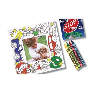 Picture Me Coloring Magnet Frame - Dentist Image 3 of 4