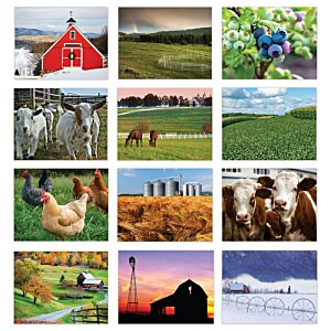 American Agriculture Calendar - Stapled Image 1 of 1