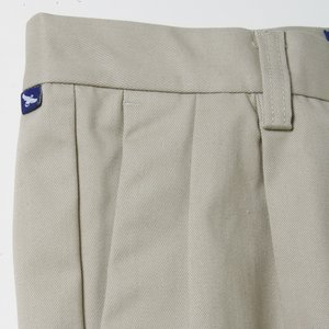 Teflon Treated Pleated Twill Pants - Men's Image 2 of 2
