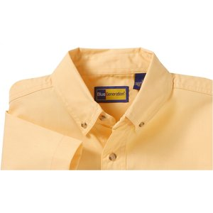 Blue Generation SS Poplin Shirt - Men's Image 2 of 2