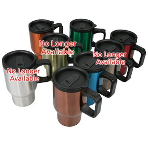 ID Stainless Steel Travel Mug - 16 oz. - 24 hr Image 1 of 1