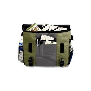4imprint Messenger Bag - Embroidered - Closeout Image 1 of 2