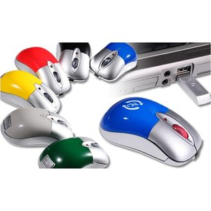 Wireless Rechargeable Optical Mouse