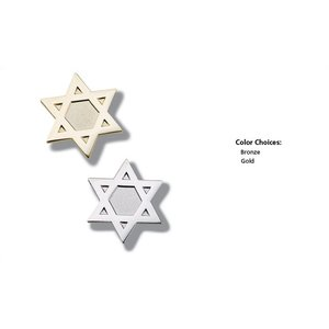 Lapel Pins - Star of David - Unimprinted Image 1 of 6