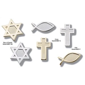Lapel Pins - Star of David - Unimprinted