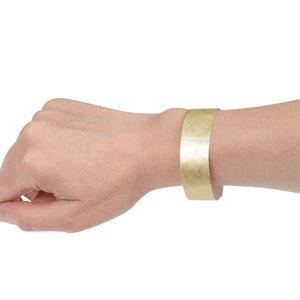 Metallic Tyvek Wristband - 3/4