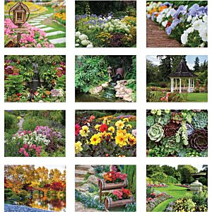 Beautiful Gardens Calendar - Spiral Image 1 of 1