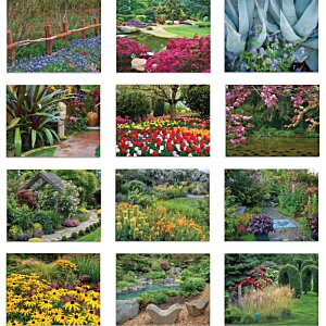 Beautiful Gardens Calendar - Stapled Image 1 of 1