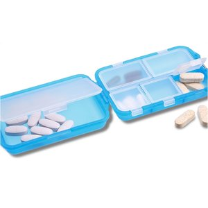 Fill, Fold and Fly Pill Box - Translucent