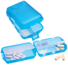 View Extra Image 1 of 1 of Fill, Fold and Fly Pill Box - Translucent - 24 hr