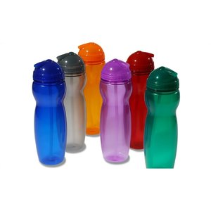 Translucent Sport Bottle - 22 oz. Image 2 of 3
