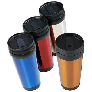 ID Stainless Steel Tumbler - 15 oz. Image 1 of 2