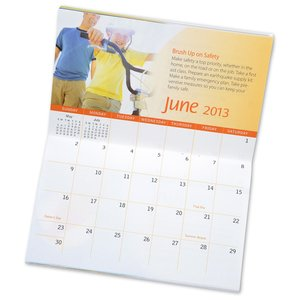 2013 Pocket Calendar & Guide - Good Health - Closeout Image 2 of 2