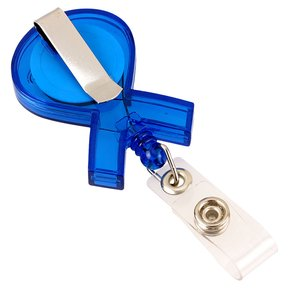 Ribbon Retractable Badge Holder - Translucent