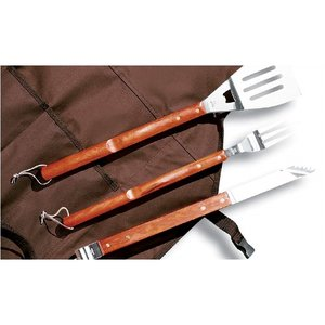 6-Piece BBQ Apron Set Image 1 of 4