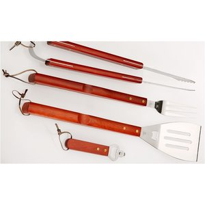 6-Piece BBQ Apron Set Image 4 of 4