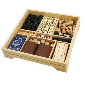 7-in-1 Traditional Game Set Image 3 of 5