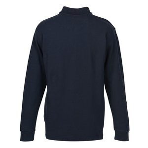 100% Combed Cotton LS Sport Shirt - Men's