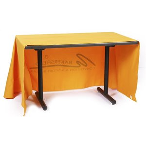 Open-Back Poly/Cotton Table Throw - 4' Image 1 of 2