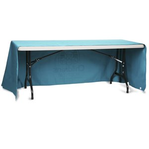 Open-Back Poly/Cotton Table Throw - 6' Image 1 of 2