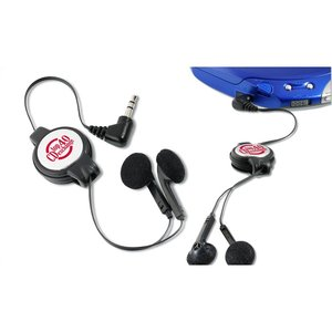 Retractable Ear Buds Image 1 of 4