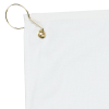 Deluxe Hemmed Golf Towel - White