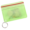 Waterproof Wallet with Key Ring - Translucent Image 1 of 2