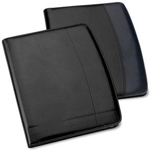 Windsor Reflections Zippered Padfolio - Debossed - 24 hr Image 2 of 2