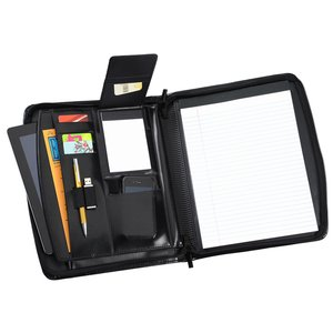 Windsor Reflections Zippered Padfolio - 24 hr