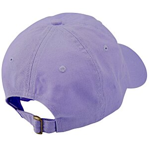 Bio-Washed Cap - Solid - Embroidered Image 1 of 3