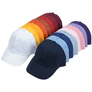 Bio-Washed Cap - Solid - Embroidered Image 2 of 3