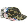 Bio-Washed Cap - Camo - Embroidered Image 1 of 3