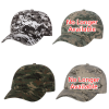 Bio-Washed Cap - Camo - Embroidered Image 3 of 3