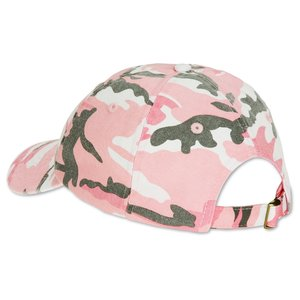 Bio-Washed Cap - Camo - Embroidered Image 2 of 3