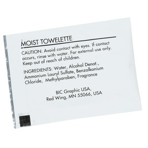 Moist Towelette Packet Image 1 of 2
