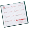 Weekly Pocket Planner with Pen - Opaque