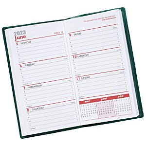 Weekly Pocket Planner with Pen - Opaque Image 2 of 2