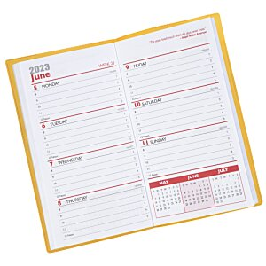 Weekly Pocket Planner with Pen - Translucent Image 1 of 2