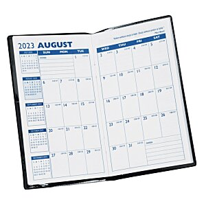 Monthly Pocket Planner w/Pen - Opaque