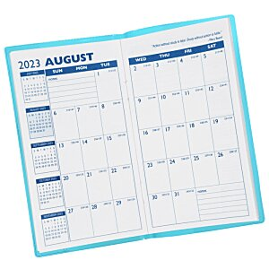 Monthly Pocket Planner with Pen - Translucent Image 2 of 2