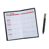 Monthly Pocket Planner w/Pen - Opaque - Academic