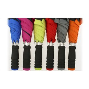 Edge Two Tone Pongee Umbrella - 46