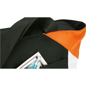 Geo Color Block Tote - Black Image 3 of 3