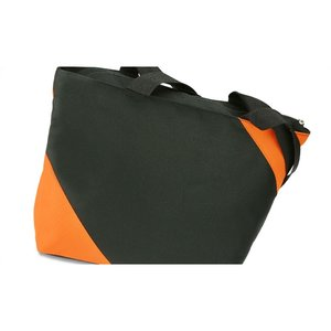 Geo Color Block Tote - White Image 3 of 4
