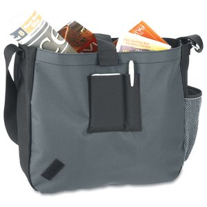 A Step Ahead Messenger Bag - Full Color Image 2 of 2