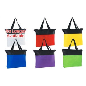 Airy Zip Tote - Colors Image 1 of 1