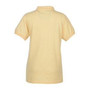 Contour 60/40 Blend Pique Polo - Ladies' Image 2 of 2
