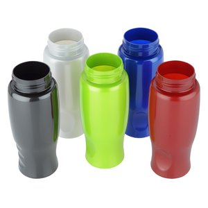 ShimmerZ Comfort Grip Bottle with Push Pull Lid - 27 oz. Image 1 of 2