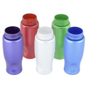 Comfort Grip Sport Bottle - 27 oz. - Pearl Image 1 of 2