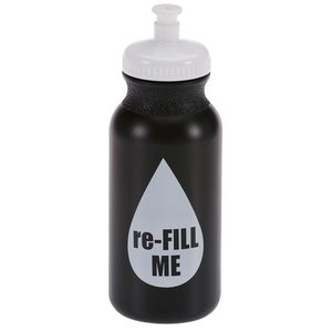 Sport Bottle with Push Pull Lid - 20 oz. - Colors - Fill Me Image 2 of 3